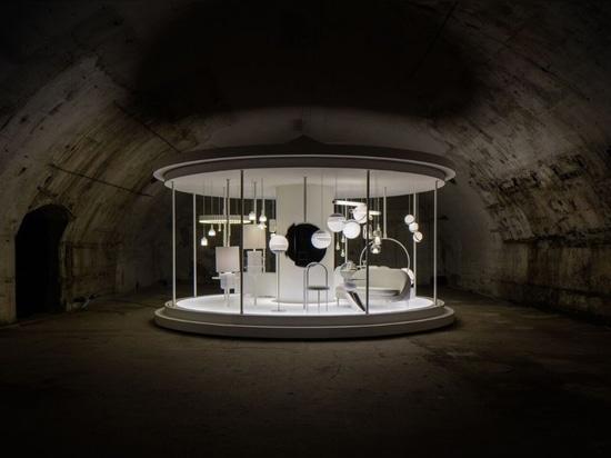 An exhibition beneath the railway