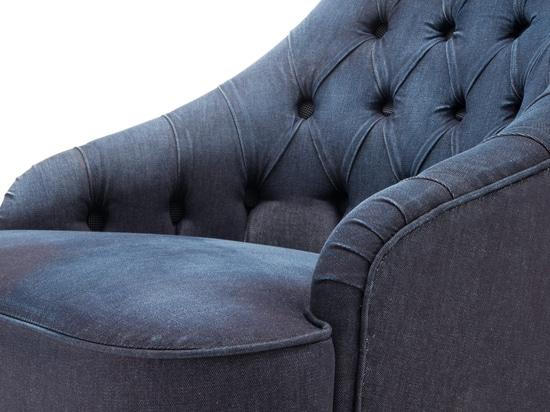 Denim armchair Vanessa4newcraft