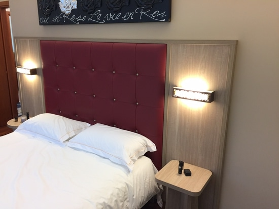 New headboard from Mobilspazio