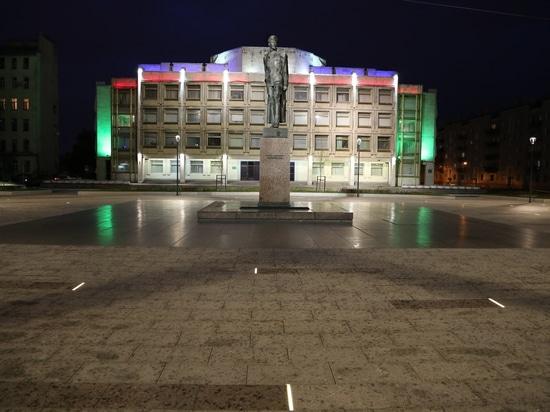TRIF LANE led lights illuminated the Dzerzhinsky Square in St. Petersburg, Russia