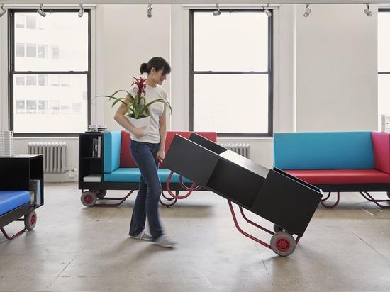 Cornell University unveils Push/Pull furniture series