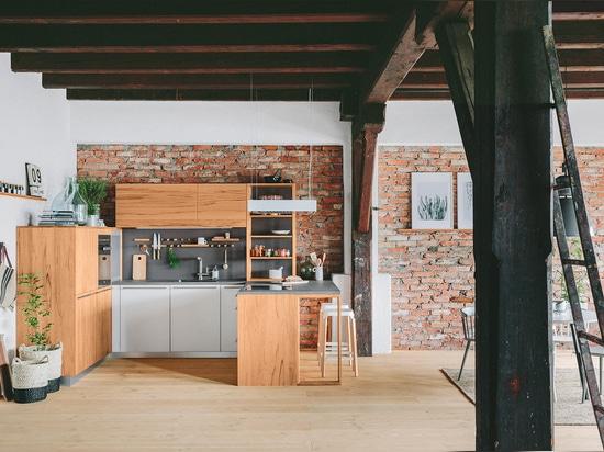 "The mafi ""Douglas FIR"" for the kitchen studio of walden Ltd."