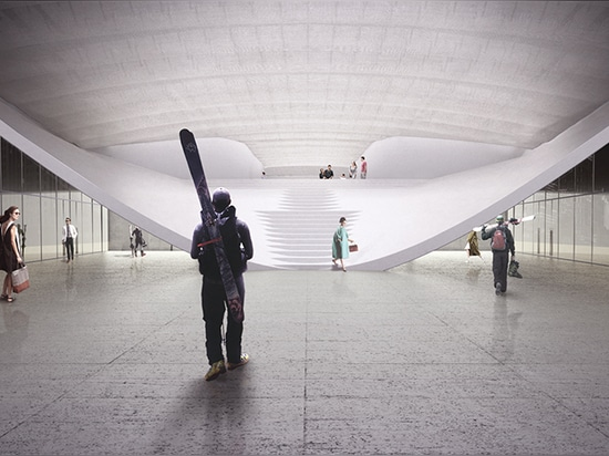 proposal for indoor skiing facility in turin establishes it as the first in the region and in italy