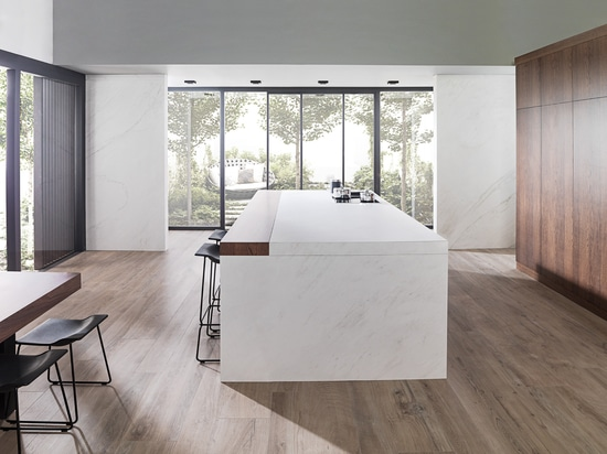 The autenticity of PAR-KER® and XLIGHT large format porcelain tiles