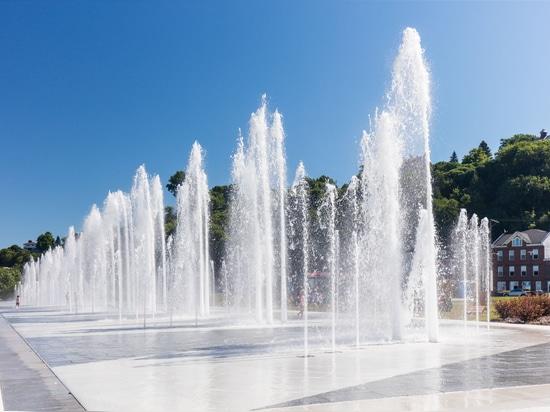 Fontaine de Quai Paquet - Traverse de Levis