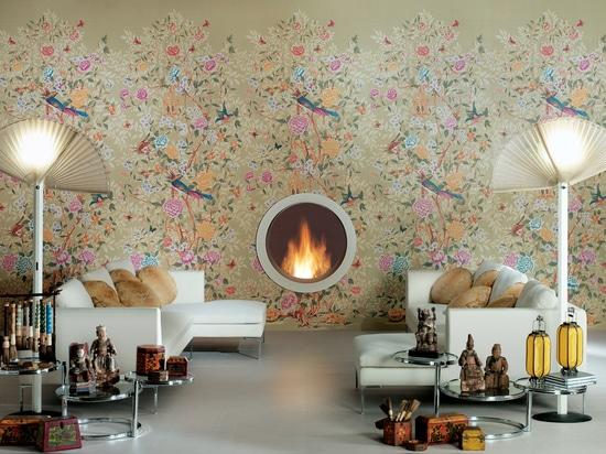 Wallpaper effect tiles
