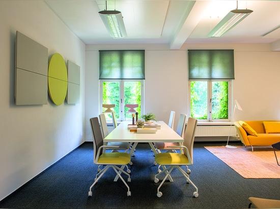 Arper unveils its Meeting Hub in Belgium
