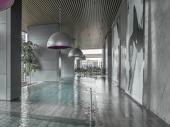 LAMINAM FOR THE SOUTH BEACH HOTEL IN SINGAPORE