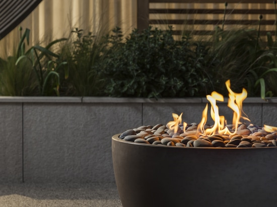Soba concrete fire bowl