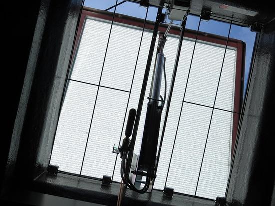 Bluebac Pneu skylight PCA Pearl Inside