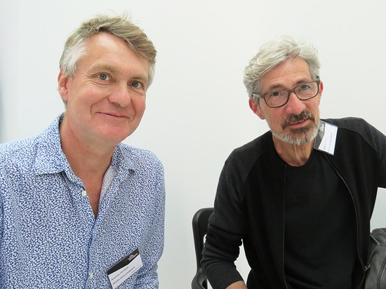 Antoine Fritsch and Thierry Coste, designers