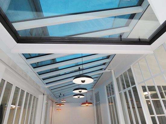 SageGlass glass roof 6X4 m
