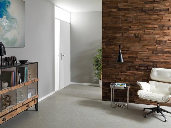 Wood Wall Mosaics: