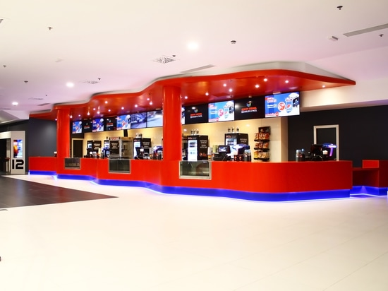 KRION® in the most modern cinemas in Europe: Multicines Odeon Sambil