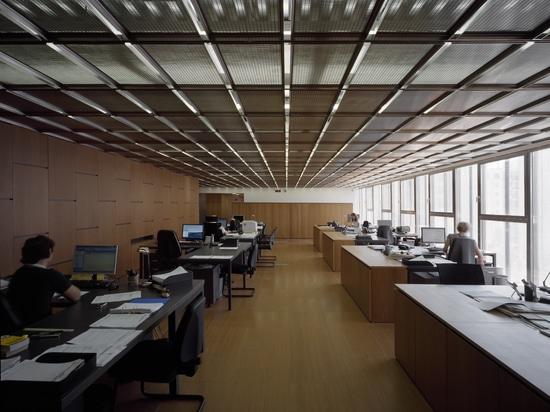 False ceiling - Costacurta Headquarters; Milan