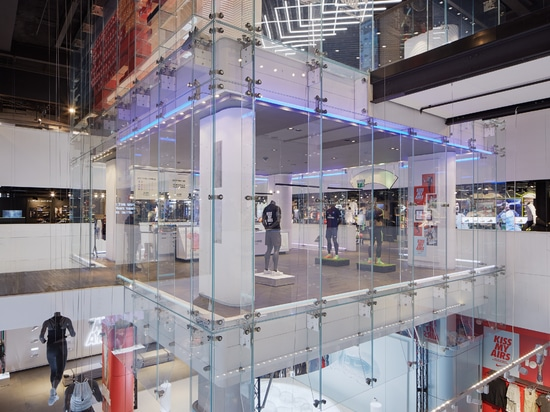 KRION® at Nike Town, Oxford Street, London. Just Do It