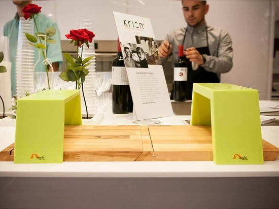 KRION® is featured in the Materia Kreativa event in Milan