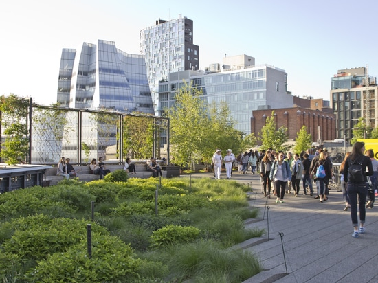 More than 20 million people have visited the High Line Park so far.