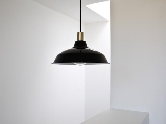 XL vintage pendant light