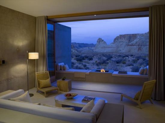 A Resort Designed To Blend Into The Desert Landscape