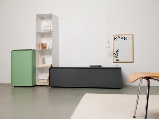 Collar cabinet composition