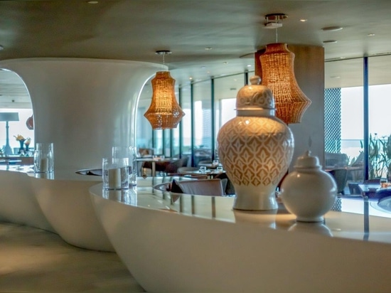KRION® in the luxurious Four Seasons hotel in Casablanca, Morocco