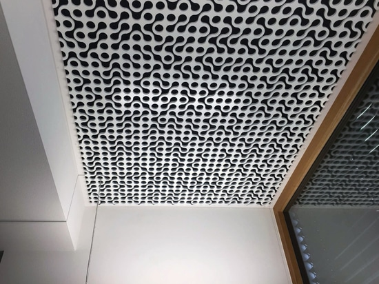 Office Ceiling, Kissing, Germany - Acoustic Treatment by Vicoustic