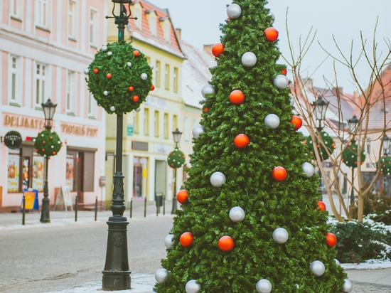 Christmas Covers for Standing and Hanging Flower Towers