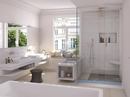 Fundo Integro: Smart complete system for the shower with integrated reliability