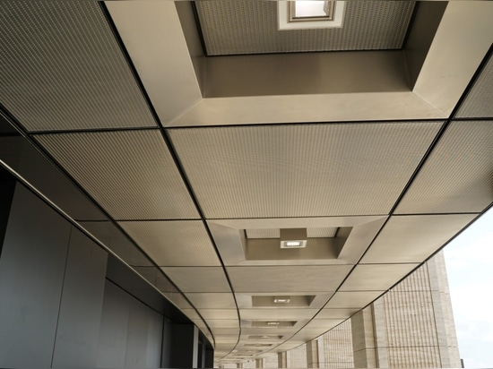 Ceiling Design with Architectural Mesh
