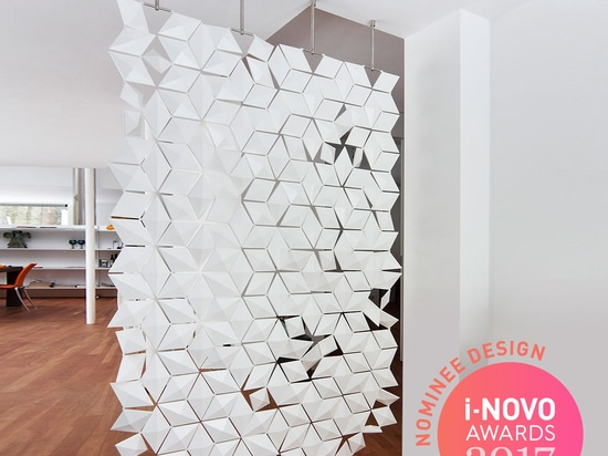 AWARD NOMINATION FOR HANGING ROOM DIVIDER FACET