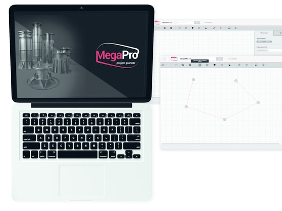 MegaPro - web application