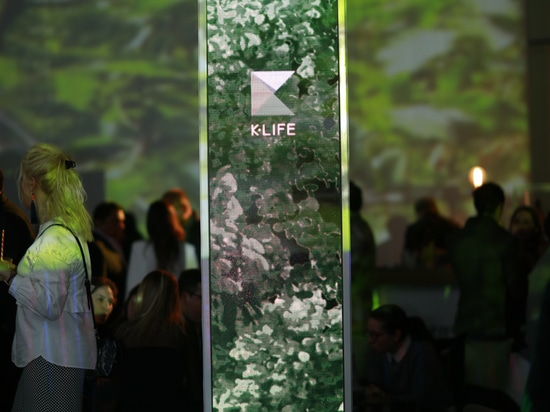 KRION PORCELANOSA presents at Papalote Children's Museum in Mexico its best wager: K-LIFE