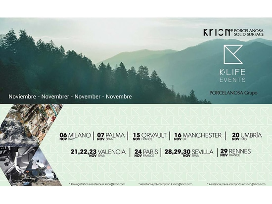 Spectacular launch of K-LIFE in October and new dates for November
