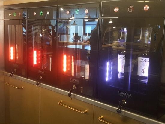 Hotel/Restaurant : Wine Bar 2.0 fits everywhere !