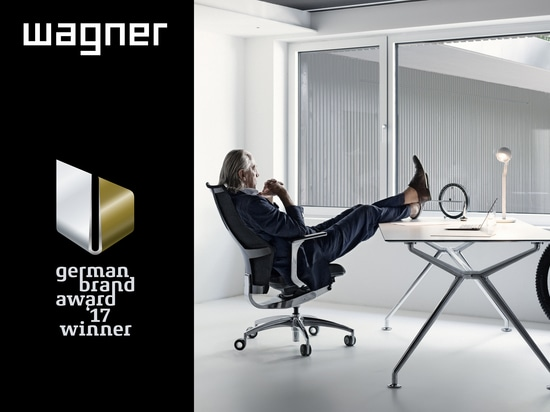 WAGNER WINNER OF 2017 GERMAN BRAND AWARD
