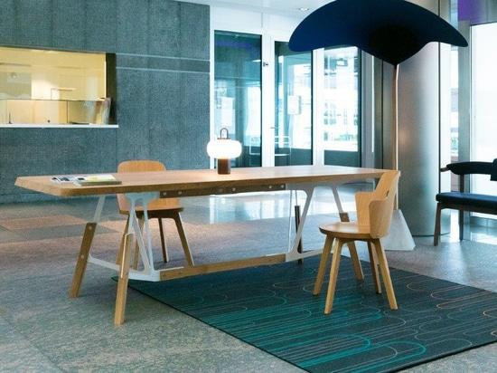 Our Stammtisch table & Stammplatz chair 'at home' in Switzerland!