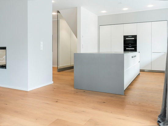 """Timeless living with mafi """"OAK Country, brushed, 1x natural oiled and 1x white oiled"""""""