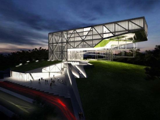 MUSEU DA TOLERÂNCIA by Frentes Arquitetos. Structure by YCON Engenharia.
