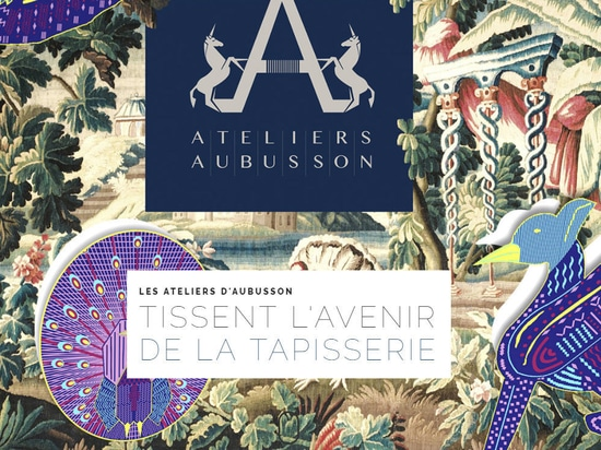 Les Ateliers d'Aubusson weave the future of tapestry