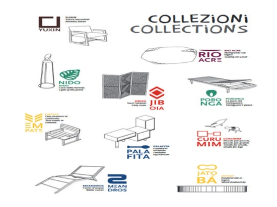 The collection of products designed for the Acre project.
