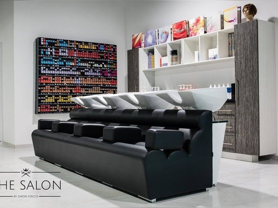 The Salon  By Simon Fergus