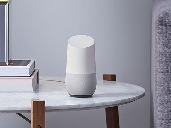 """Google Home: a speaker to finally take on the Amazon Echo"" via The Verge."