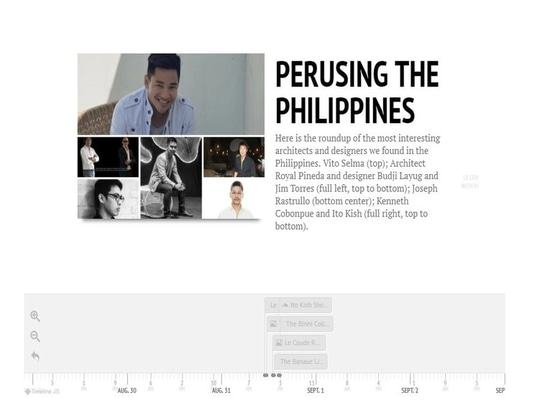 In Time: Perusing the Philippine Islands