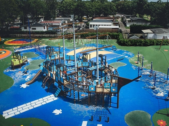 Santa Maria ship is one of a kind playground ship.