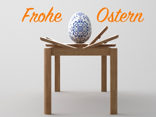 Extendable dining tables for family mealtimes. Happy Easter!