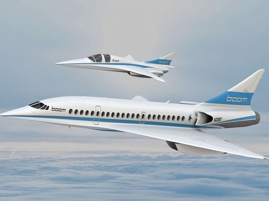 Boom supersonic aircraft concept