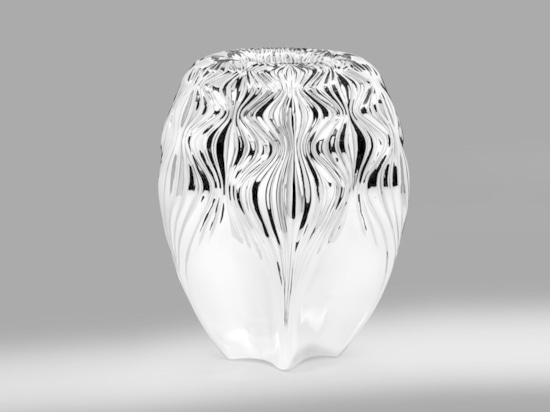 Vase by Zaha Hadid for Atelier Courbet. Courtesy of the studio.