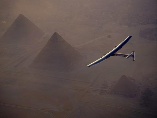 Landing in Cairo