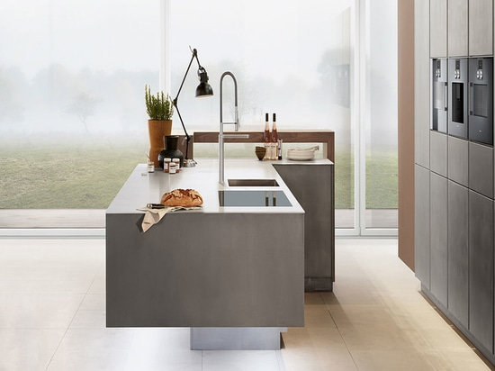 Zeyko kitchen solution. The London-based company works with wood, metal and concrete.